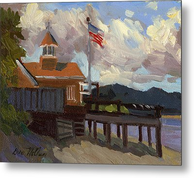 Vashon Island 4th Of July Metal Print by Diane McClary