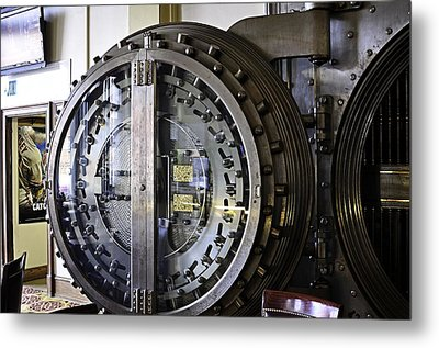 Vault Dining Metal Print by Image Takers Photography LLC - Laura Morgan