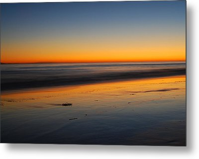 Ventura Beach Evening Metal Print by Catherine Lau