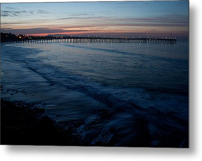 Ventura Pier Sunrise Metal Print by John Daly