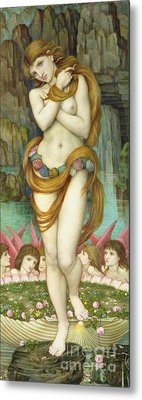 Venus Metal Print by John Roddam Spencer Stanhope