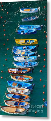 Vernazza Armada Metal Print by Inge Johnsson