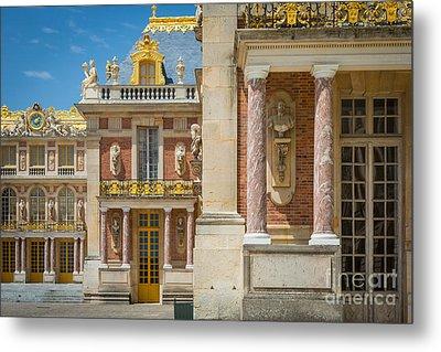 Versailles Splendor Metal Print by Inge Johnsson