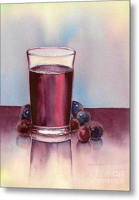 Very  Berry Metal Print by Nan Wright