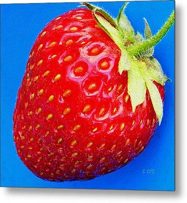 Very Strawberry  Metal Print by Chris Berry