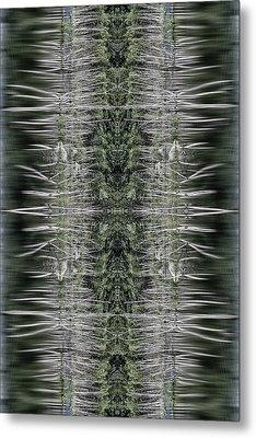 Vibrations Metal Print by Dawn J Benko