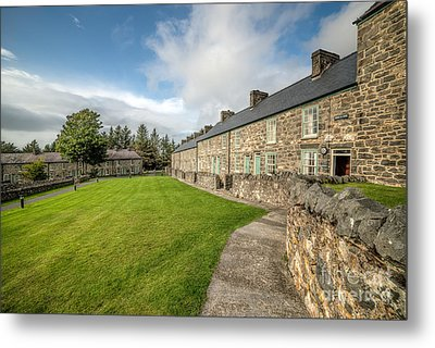 Victorian Cottages Metal Print by Adrian Evans