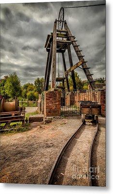 Victorian Mine Metal Print by Adrian Evans