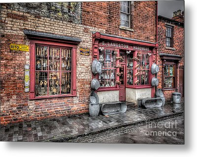Victorian Stores England Metal Print by Adrian Evans
