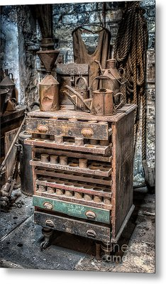 Victorian Workshop Metal Print by Adrian Evans