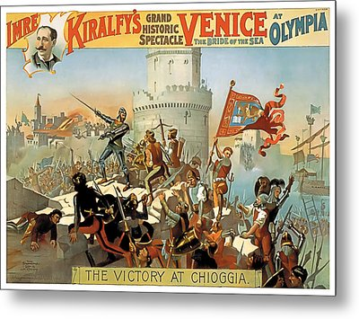 Victory At Chioggia Metal Print by Terry Reynoldson