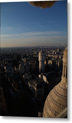View From Basilica Of The Sacred Heart Of Paris - Sacre Coeur - Paris France - 011321 Metal Print by DC Photographer