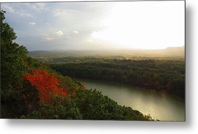 View From Chauncey Peak Metal Print by Stephen Melcher