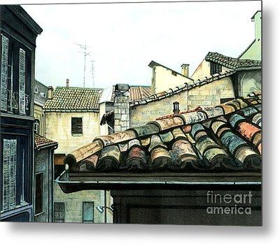 View From The Top Metal Print by Barbara Jewell