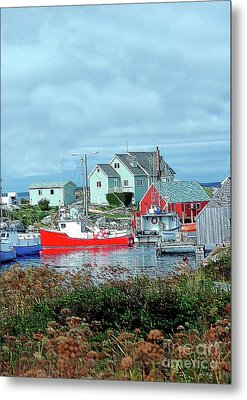 View Of Cove Metal Print by Kathleen Struckle