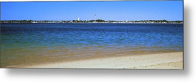 View Of Ocean, Provincetown, Cape Cod Metal Print by Panoramic Images