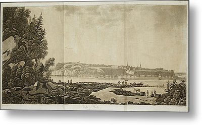 View Of Quebec Metal Print by British Library