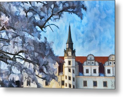 View Of The Castle Metal Print by Gynt