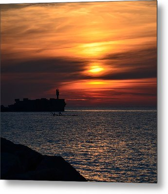 View Of The Sunset Metal Print by Gynt