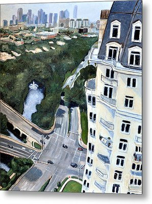 View Over Turtle Creek Metal Print by Sandra Mucha