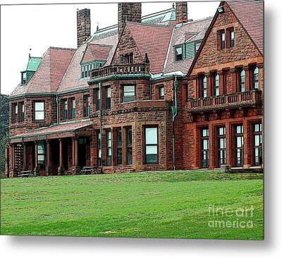 Villa Metal Print by Kathleen Struckle