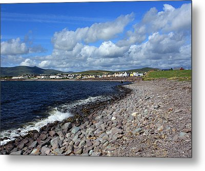 Village By The Sea - County Kerry - Ireland Metal Print by Aidan Moran
