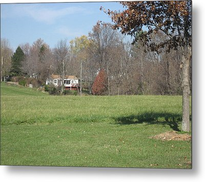 Vineyards In Va - 121231 Metal Print by DC Photographer