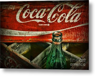 Vintage Coca-cola Metal Print by Paul Ward