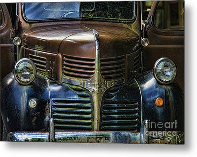 Vintage Dodge Metal Print by Mark Newman