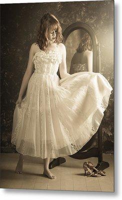 Vintage Dress Metal Print by Rich Legg