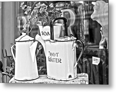 Vintage Jugs Metal Print by Georgia Fowler