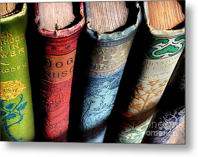 Vintage Read Metal Print by Michael Eingle