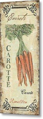 Vintage Vegetables 4 Metal Print by Debbie DeWitt