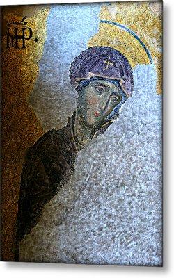 Virgin Mary Metal Print by Stephen Stookey