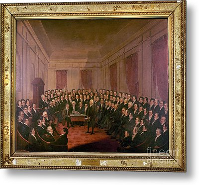 Virginia Convention 1829 Metal Print by Granger