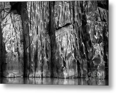 Vishnu Schist Metal Print by Inge Johnsson