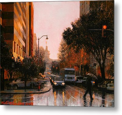 Vista Drizzle Metal Print by Blue Sky
