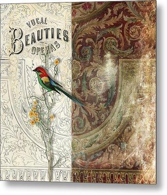 Vocal Beauties Metal Print by Aimee Stewart