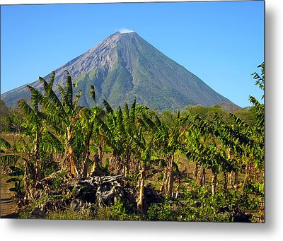 Volcan Concepcion Nicaragua Metal Print by Kurt Van Wagner