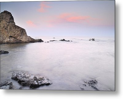 Volcanic Pink Sunset Metal Print by Guido Montanes Castillo