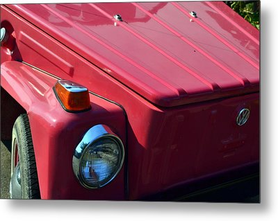 Volkswagen Thing Metal Print by Michelle Calkins