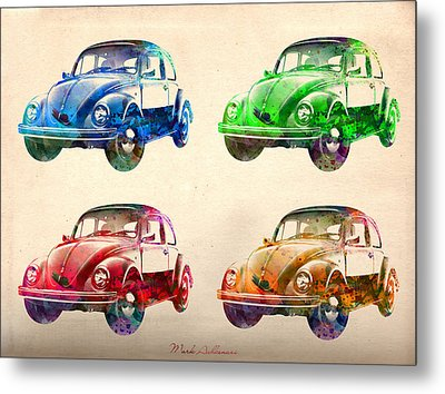 Vw 2 Metal Print by Mark Ashkenazi