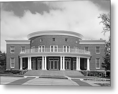 Wabash College Trippet Hall Metal Print by University Icons