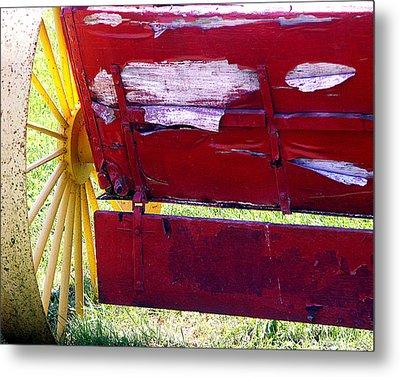 Wagon Metal Print by Tom Romeo