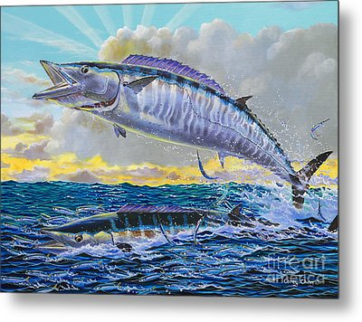 Wahoo Sunrise Off0064 Metal Print by Carey Chen