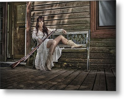 Waiting Metal Print by Naman Imagery
