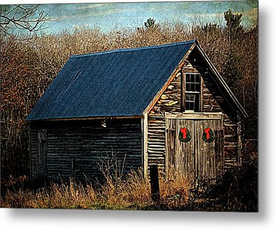 Waiting For Christmas Metal Print by Tricia Marchlik