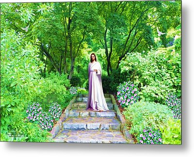 Waiting For You Metal Print by Susanna  Katherine
