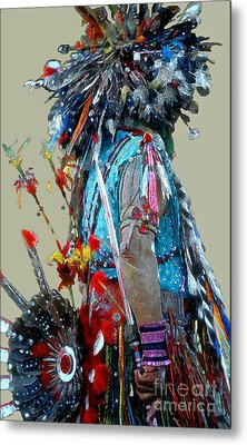 Waiting To Dance Metal Print by Linda  Parker