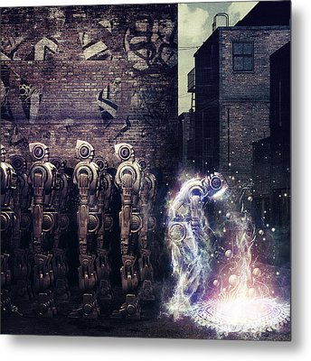 Wake Up Metal Print by Cameron Gray